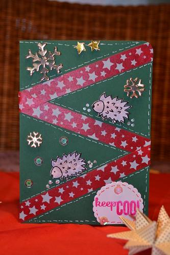Weihnachtskarte Nr.2