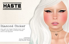 [Haste] Diamond Choker Free @ Geeks N Nerds Only