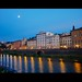 A Warm Summer Evening on the Arno by lee.mccain.photorama