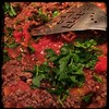 #Moussaka prep - 2 tbsp tomato paste and flat leaf parsley