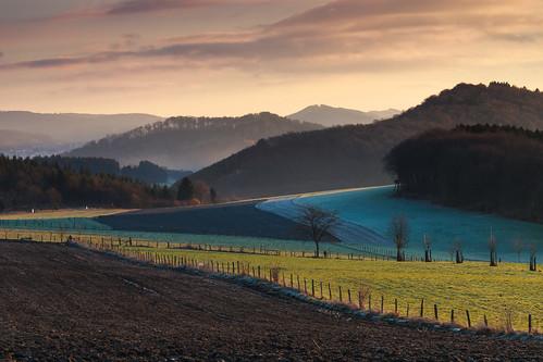 winter germany nordrheinwestfalen sauerland westfalen nordrhein wallen hochsauerland northrhine