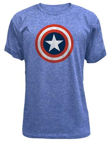 Captain america boys 39 t shirt from walmart with free for Walmart custom made t shirts