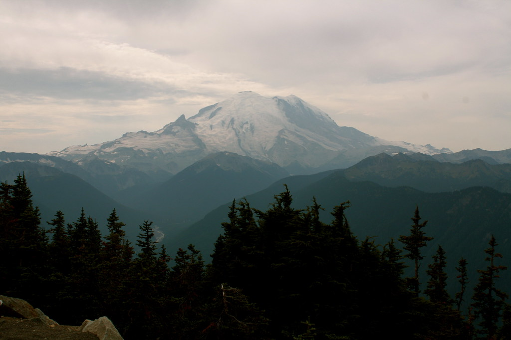 Mount Rainier from Crystal