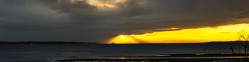 sunset england nikon hampshire solent geoffrey radcliffe isle wight d700 lightroom5