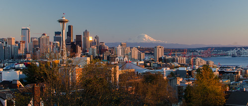 seattle november sunset washington nikon kerrypark 2014 d7000