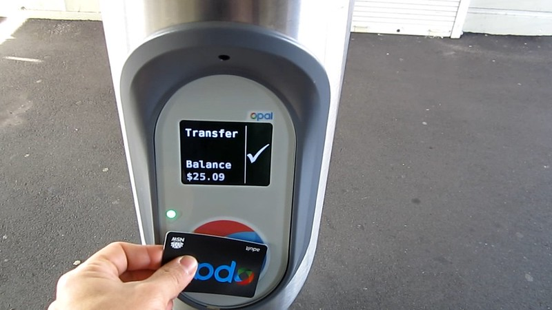 Opal card standalone reader