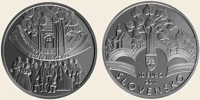 10 Euro Slovensko 2011, Memorandum národa slovenského