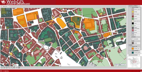 ROMA ARCHEOLOGICA  & RESTAURO ARCHITETTURA: Roma, 'WebGIS CASTASTO GREGORIANO' - UNIVERSITA` DEGLI STUIDI ROMA TRE - DEPARTIMENTO STUDI URBANI (2007-14).