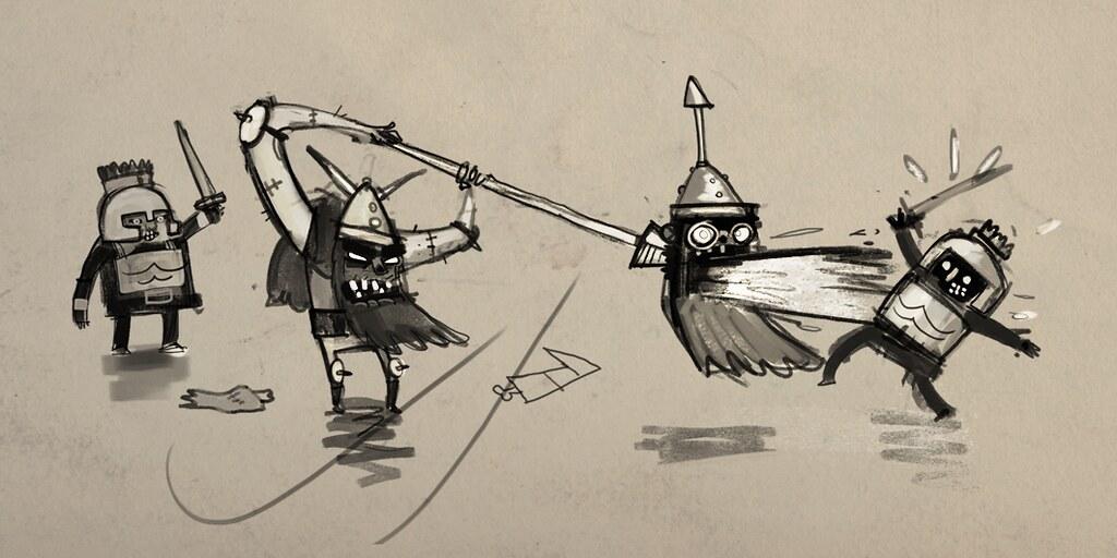 Zombie Vikings sketch2