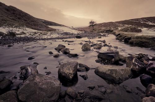 longexposure winter snow water rural river countryside nikon rocks stream december sigma countydurham 2014 sigmalens weardale nikond7000