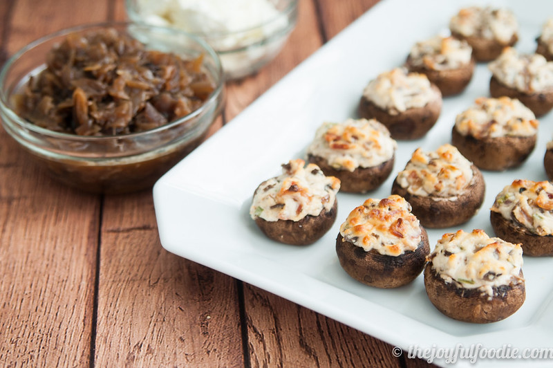 goat-cheese-caramelized-onion-stuffed-mushrooms-5