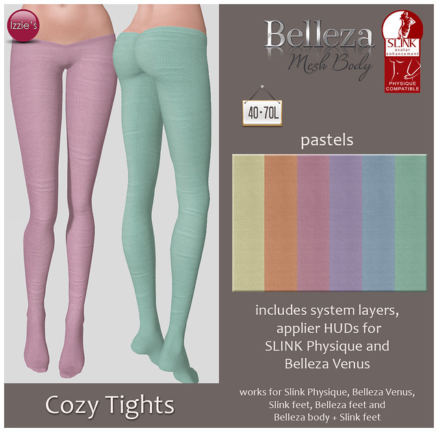 TDRF (Cozy Tights pastels)