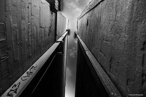 sky blackandwhite brick clouds concrete graffiti downtown florida perspective walls clearwater