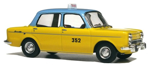 26 Ixo Altaya Simca 1000 Taxi Algeri