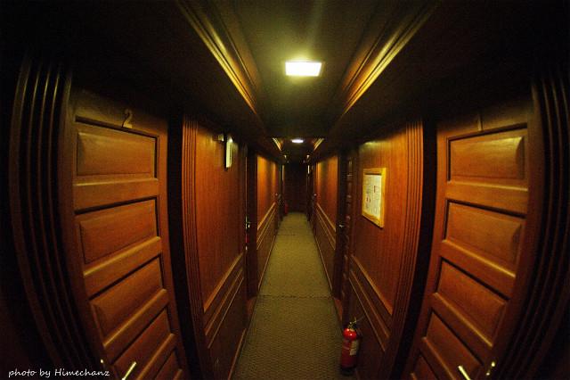 皆さんの宿泊部屋です。船の中とは思えない、いい雰囲気でした!