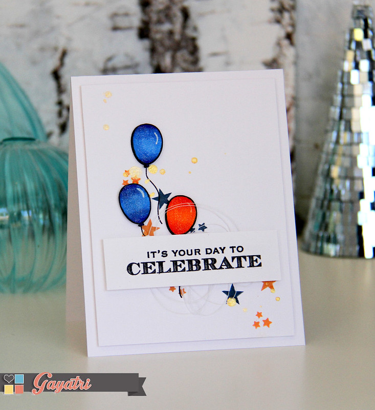 Celebrate card vertical