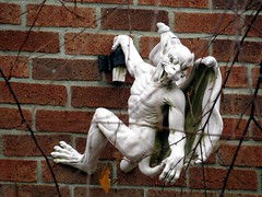 The gargoyle of Indianapolis spotted.
