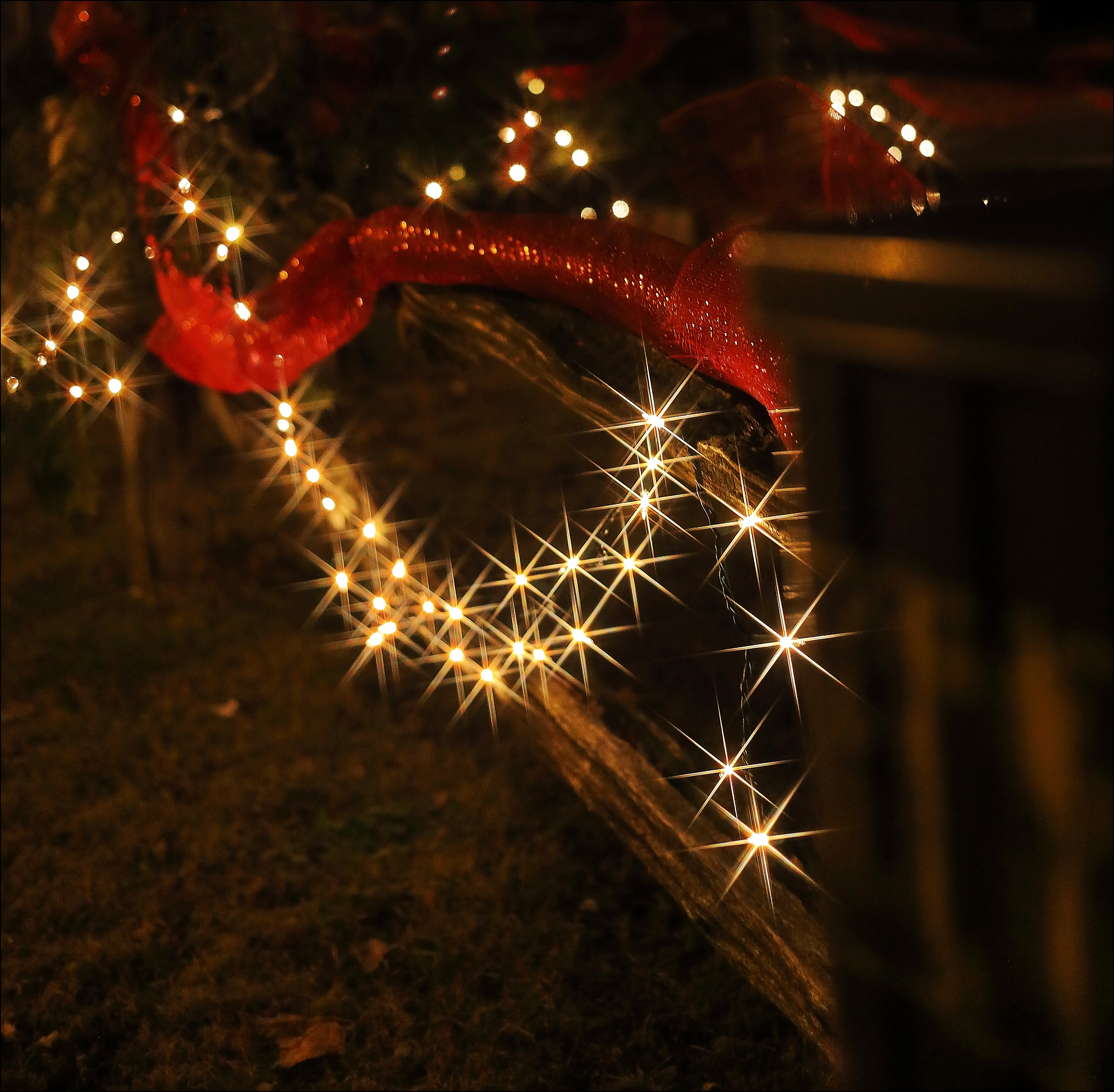 One Of The Older Homes & Always Decorated For Christmas. christmas, home, canon, star, filter, older, 6d. buy photo