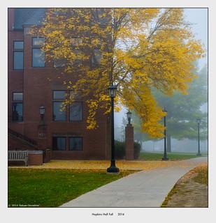 Hopkins Hall Fall