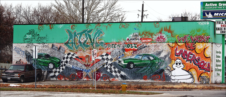 Mural. ontario, window, car, canon, out, mural, taken, windsor, 60d. buy photo