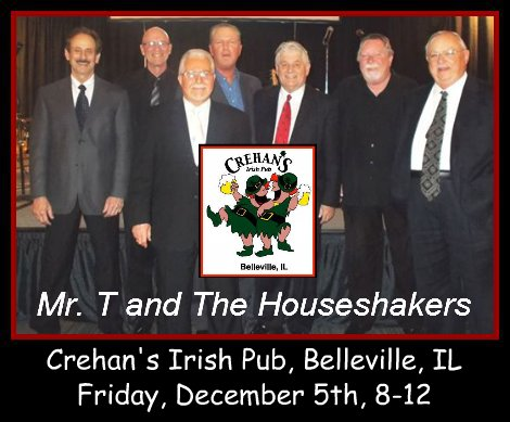 Mr. T and The Houseshakers 12-5-14