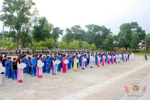 Khai mạc giải Vovinam trường ĐH Sư phạm Thái Nguyên mở rộng năm 2014
