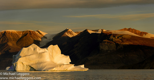 ocean winter sunset sea mountain ice nature water sunrise michael europe calm arctic greenland northamerica iceberg leggero coldtemperature