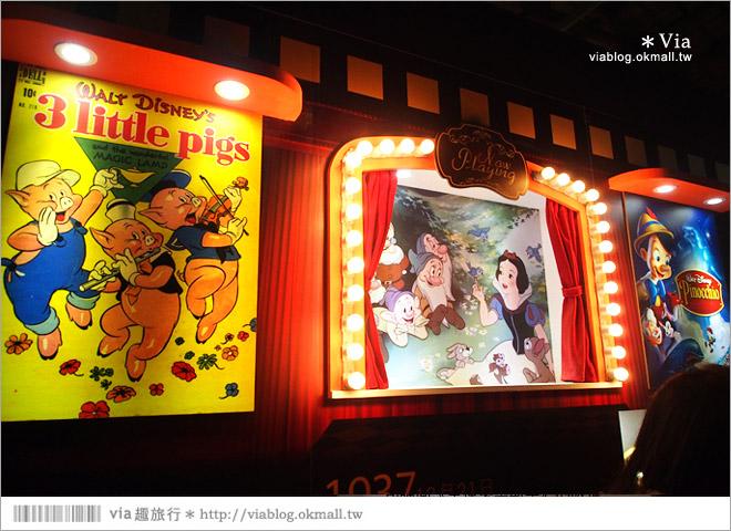 【迪士尼90週年特展】2014台北松山迪士尼特展~跟著迪士尼回顧走過90年的精彩畫面!12
