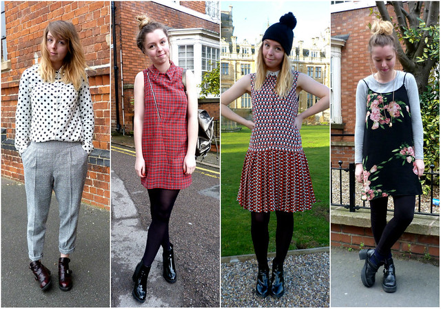 2014 fashion blogger outfits roundup - January-April