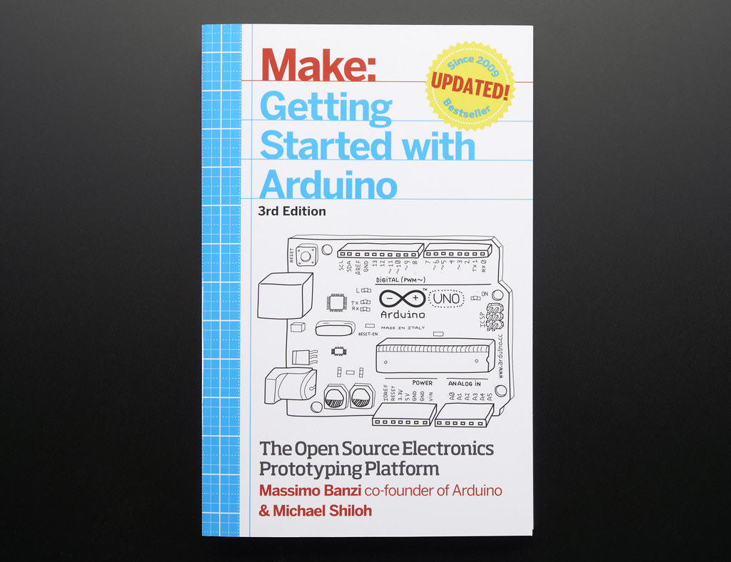 Getting Started with Arduino By Massimo Banzi - 3rd Edition