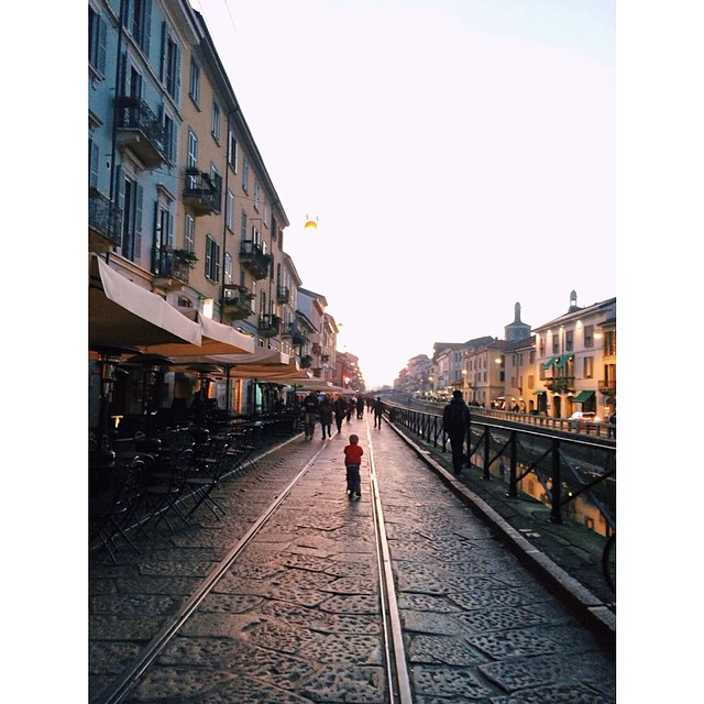 Will taking on Navigli #navigli #milano #italy