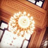Looking up in Grand Central Station.. #lookingup #grandcentral #grandcentralstation  #chandelier #light #lightfixture #midtown #midtowneast #manhattan #mynewyork