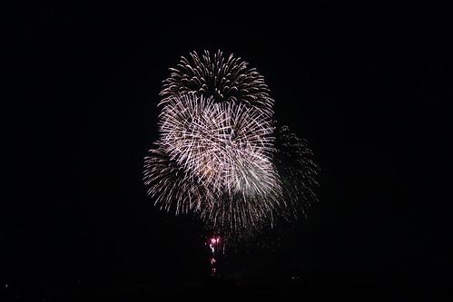 Kumagaya Fireworks_2 熊谷花火大会の写真。 美しい花火。