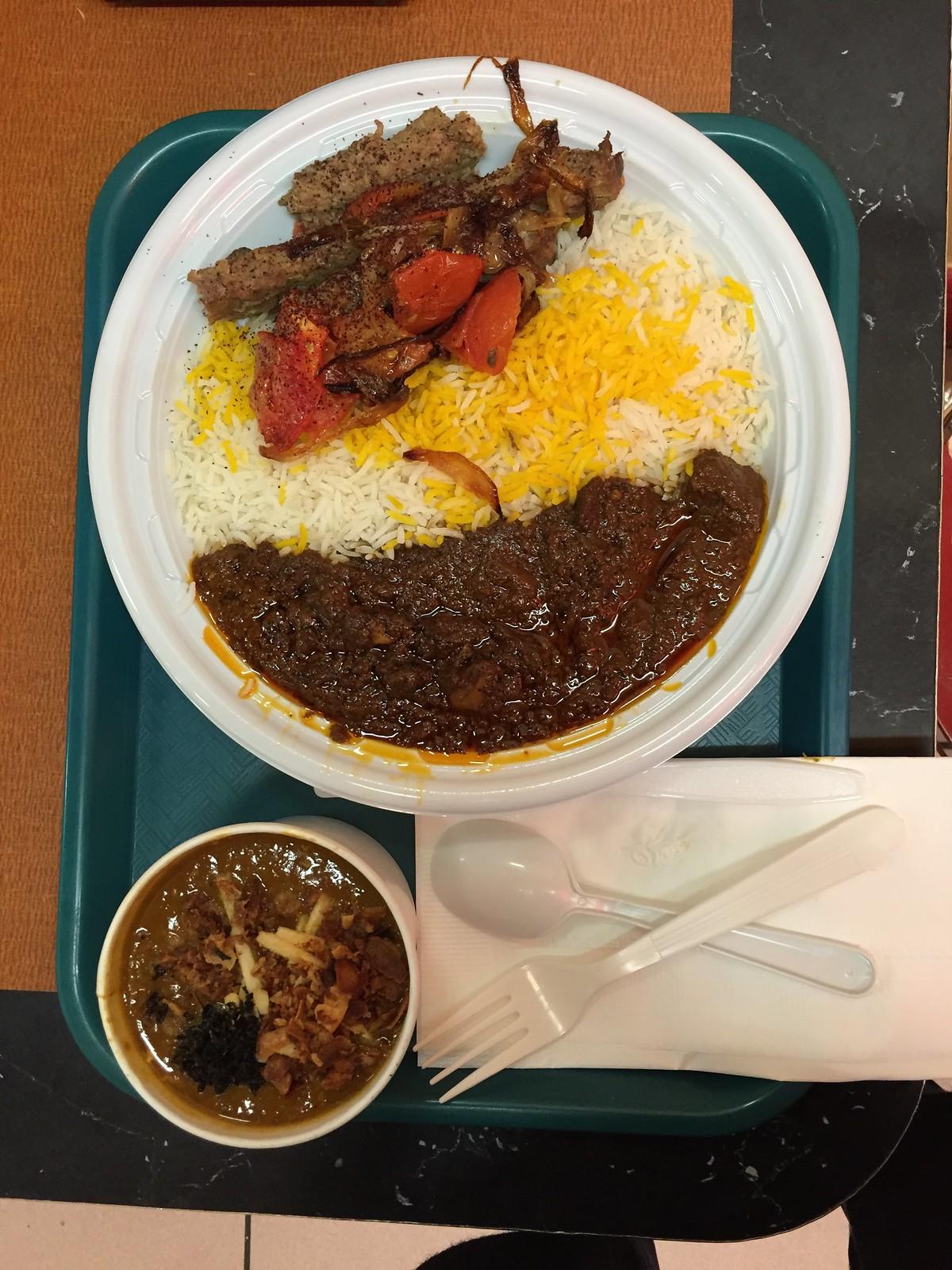 Kabab, Fesenjan and Ash e Reshteh
