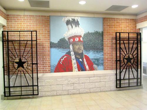 texas mosaic restarea easttexas polkcounty leggett us59 ahobblingaday sugarlandtxtobinghamtonny tripbarelystarted polkcountysafetyrestarea alabamacoushattaindian