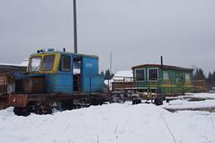 Monza railway 2245 railcar Steklyanka.