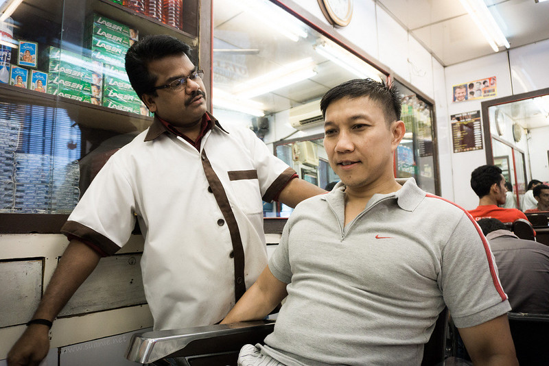 Stylo Indian barber Kuala Lumpur - new hair cut
