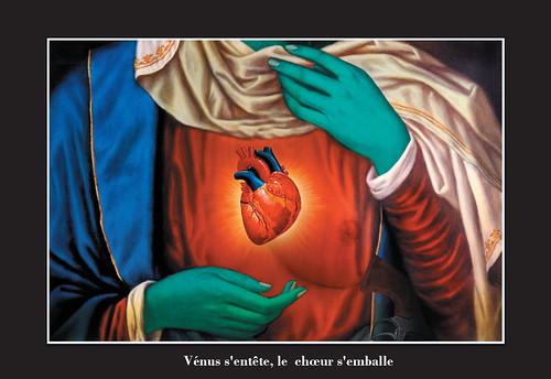 carton Vénus s'entête, le choeur s'emballe