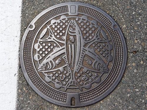 Himi Toyama, manhole cover 6 (富山県氷見市のマンホール6)