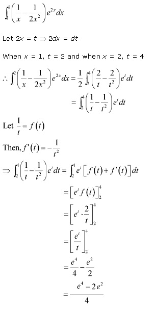 RD Sharma Class 12 Solutions Chapter 20 Definite Integrals Ex 20.1 Q57