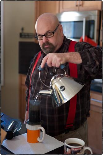 Michael Makes Coffee, January 07, 2015
