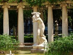 Jardín del Real en Valencia - Bruma boreal, de Julio Benlloch i Casarés