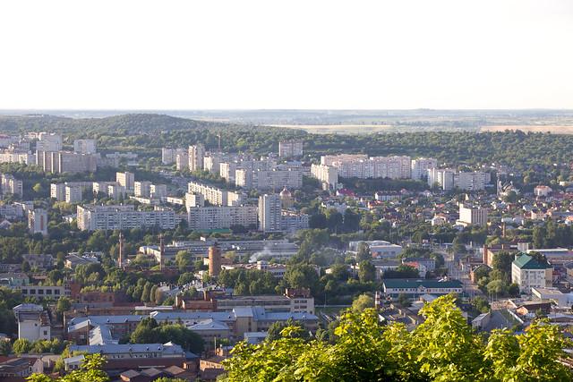 Lviv view from High Castle (Vysokiy Zamok). Ukraine