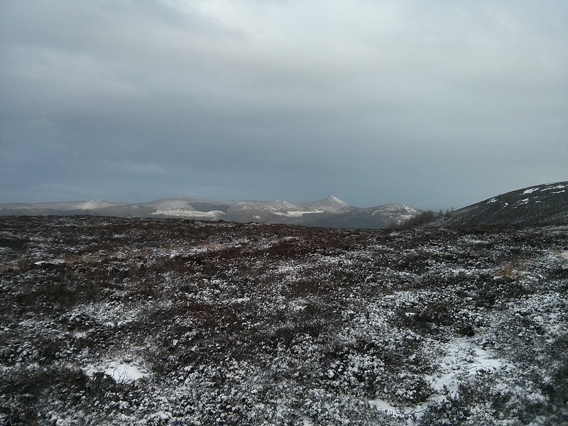 Bennachie from Cairn William