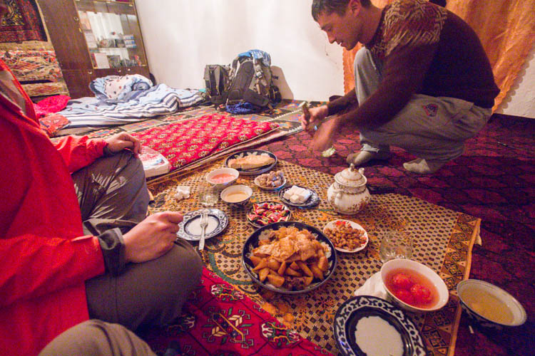 homestay central asia