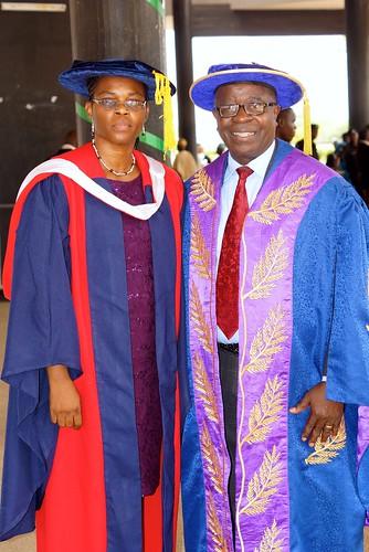 Dr. Aladesanmi Omolara Titilayo 2015 graduation Nigeria
