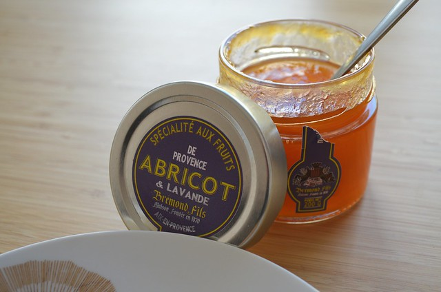 Maison Bremond apricot-lavender jam from France