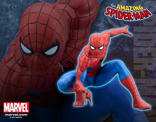 壽屋 ARTFX+ 系列【蜘蛛人】MARVEL NOW! the Amazing Spider-Man 1/10 比例 全身雕像