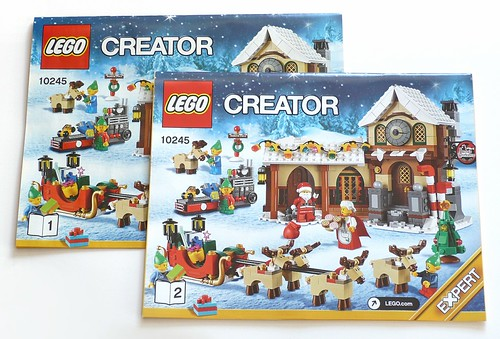 LEGO 10245 Santa's Workshop box08