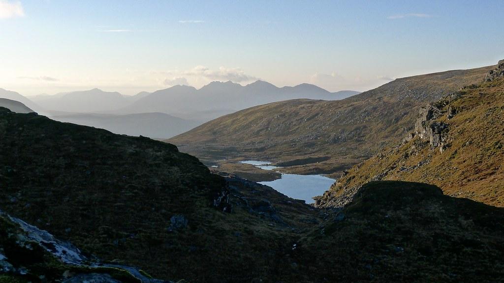 An Teallach beyond Loch a' Chnapaich